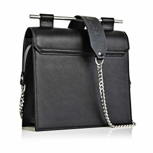 Geanta Maestoso Black Square Bag
