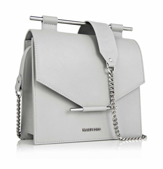 Maestoso Grey Square Bag