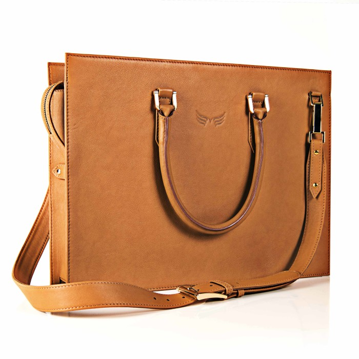 Servieta Maestoso Tobacco Brown Briefcase