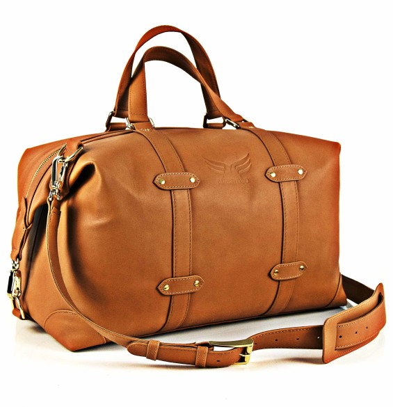 Geanta de voiaj Maestoso Tobacco Brown Duffel Bag