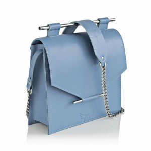 Bleu Ciel Square Bag