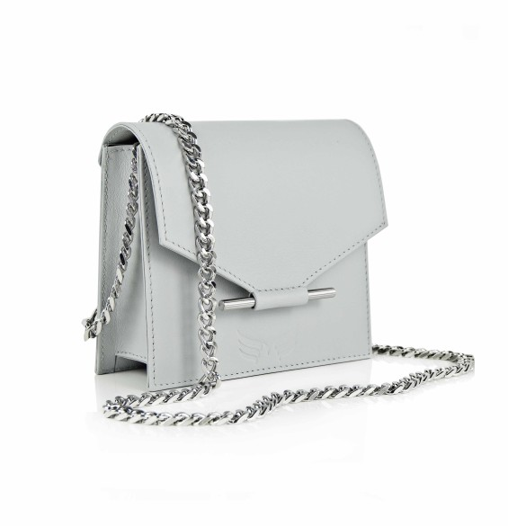 Maestoso Grey Mini Square Bag