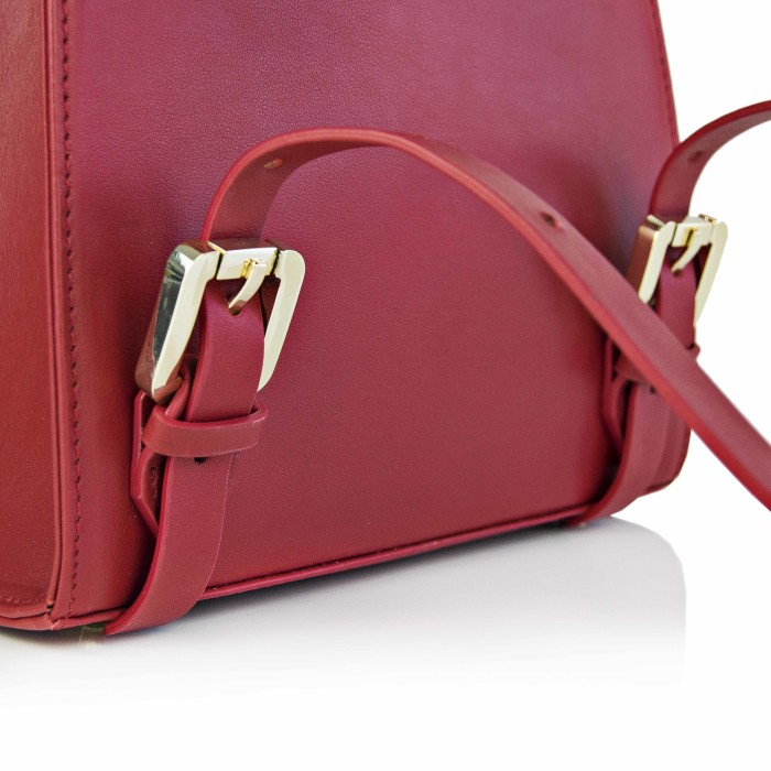 Maestoso Ruby Red Mini Backpack