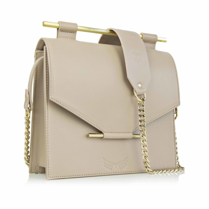Maestoso Nude Square Bag