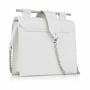 Maestoso White Square Bag