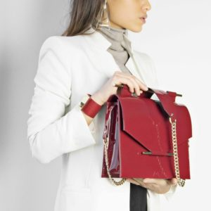 Maestoso Water Ruby Square Bag