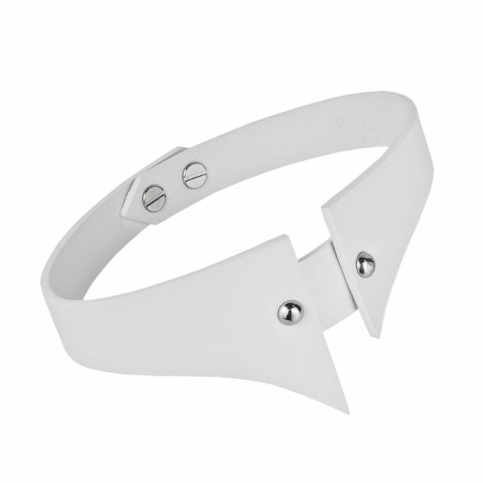 Maestoso White Sharp Choker