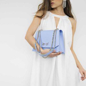 Geanta din piele naturala Blue Sky Skylark Bag