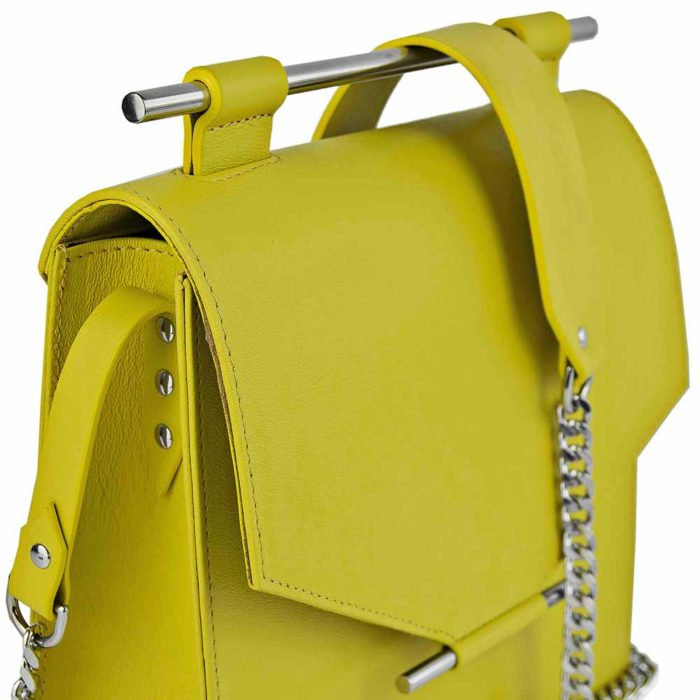 Maestoso Yellow Square Bag