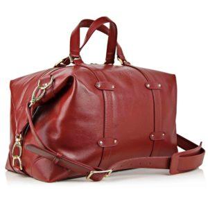 Geanta de voiaj din Maestoso Red Duffel Bag