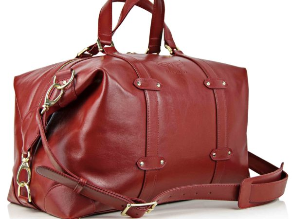 Geanta de voiaj din Maestoso Red Duffel Bag