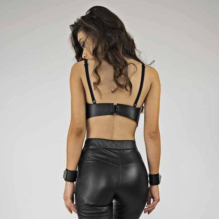 Maestoso Kahn Leather Bra
