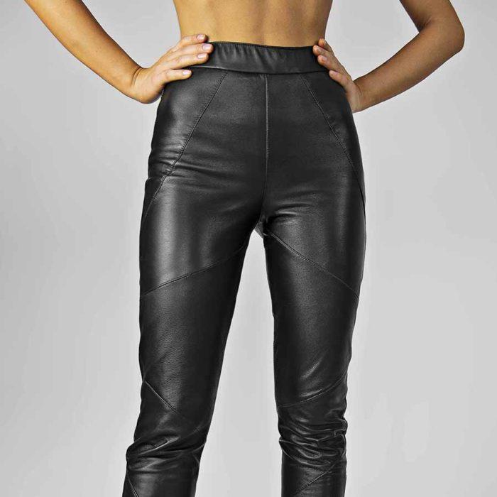 Maestoso Rem Leather Pants