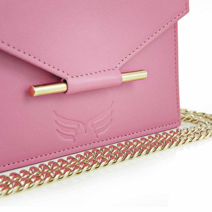 Maestoso Pink Mini Square Bag