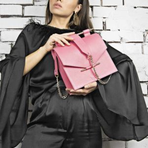 Maestoso Pink Square Bag