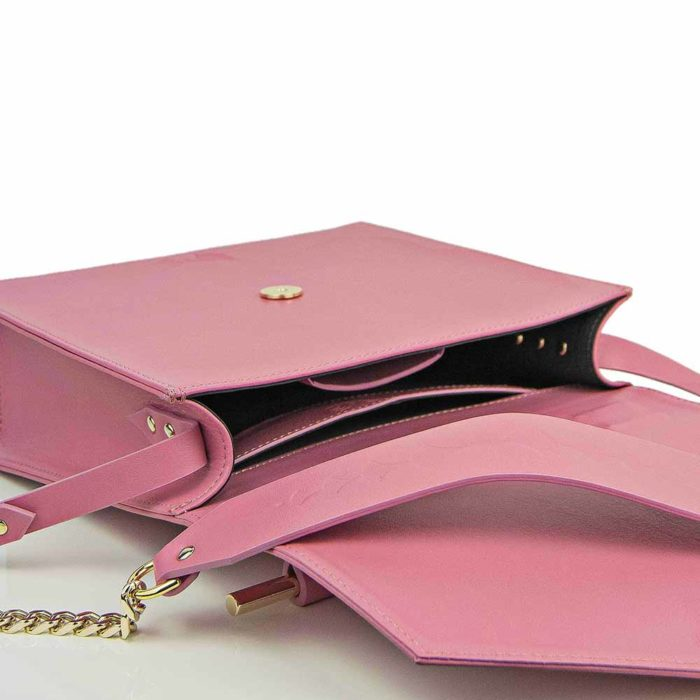 Maestoso Pink Square Bag