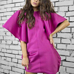 Rochie Zaha Magenta Dress