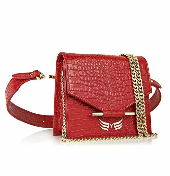 MAESTOSO WAIST BAG - RED CROCO