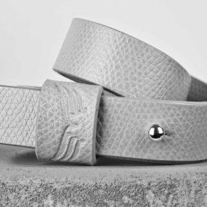 Bratara din piele gri Maestoso Grey Wrap Bracelet